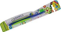 Parfémy, Parfumerie, kosmetika Dětský bambusový zubní kartáček, modrý - Yaweco Kids Toothbrush Soft