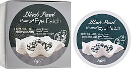 Parfémy, Parfumerie, kosmetika Hydrogelové náplasti pod oči s černou perlou - Esfolio Black Pearl Hydrogel Eye Patch