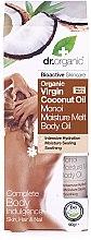 Parfémy, Parfumerie, kosmetika Kokosové tělové máslo - Dr.Organic Virgin Coconut Oil Moisture Melt Body Oil