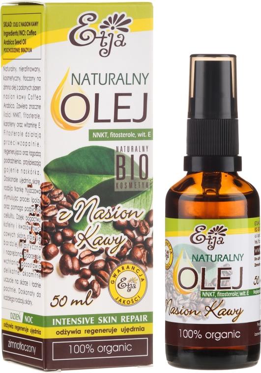 Přírodní olej z kávových zrn - Etja Natural Oil