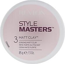 Parfémy, Parfumerie, kosmetika Stylingová hlína s matným efektem - Revlon Professional Style Masters Matt Clay