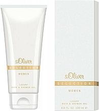 Parfémy, Parfumerie, kosmetika S.Oliver Selection for Woman - Sprchový gel