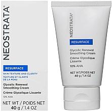 Parfémy, Parfumerie, kosmetika Obnovující pleťový krém - Neostrata Resurface Glycolic Renewal Smoothing Cream Ultra