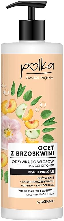 Kondicionér na vlasy Broskvový ocet - Polka Peach Vinegar Conditioner