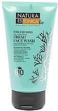 Parfémy, Parfumerie, kosmetika Osvěžující mycí gel Islandský mech - Natura Estonica Iceland Moss Face Wash