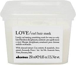 Parfémy, Parfumerie, kosmetika Hydratační maska pro posílení zvlnění vlasů - Davines Love Curl Hair Mask