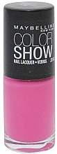 Parfémy, Parfumerie, kosmetika Lak na nehty - Maybelline Color Show Nail Lacquer