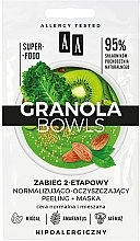 Parfémy, Parfumerie, kosmetika Peelingová maska pro normální a smíšenou pleť - AA Granola Bowls