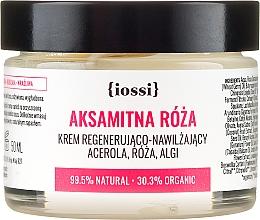 """Parfémy, Parfumerie, kosmetika Obnovující krém na obličej """"Sametová růže"""" - Iossi Regenerating Cream"""