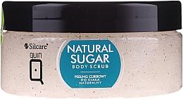 Parfémy, Parfumerie, kosmetika Tělový peeling z přírodního cukru - Silcare Quin Natural Sugar Body Scrub