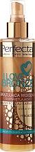 Parfémy, Parfumerie, kosmetika Bronzovací sprej s makadamovým olejem - Perfecta I Love Bronze Spray Mist