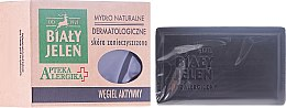 Parfémy, Parfumerie, kosmetika Aktivní uhlíkové dermatologické mýdlo - Bialy Jelen Apteka Alergika Soap