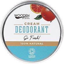 Parfémy, Parfumerie, kosmetika Deodorant krém - Wooden Spoon Go Fresh Cream Deodorant