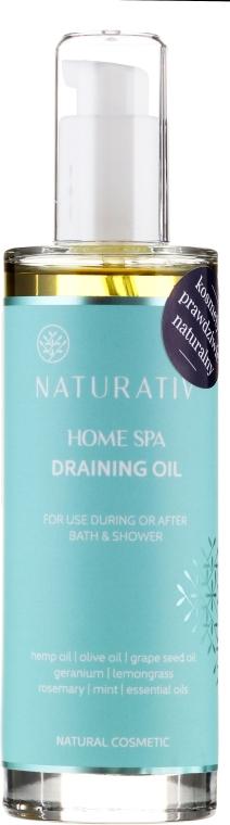 Masážní olej - Naturativ Draining Oil Home Spa — foto N1