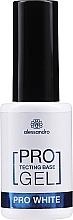 Parfémy, Parfumerie, kosmetika Zpevňující báze na nehty - Alessandro International Protectig Base Gel Pro White