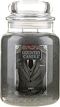 Parfémy, Parfumerie, kosmetika Vonná svíčka ve skle - Country Candle Grey