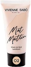 Parfémy, Parfumerie, kosmetika Matující make-up - Vivienne Sabo Mat Mattin Mattifying Foundation
