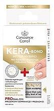 Parfémy, Parfumerie, kosmetika Zpevňovač nehtů s keratinem - Constance Carroll Nail Care Kera-Bond After Hybrid