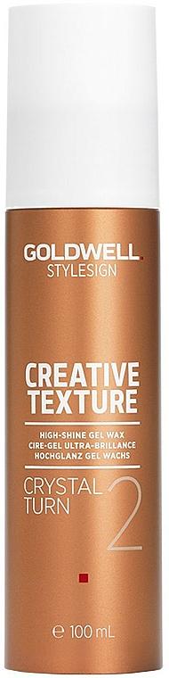 Gel-vosk s křišťálovým leskem - Goldwell Style Sign Creative Texture Crystal Turn High-Shine Gel Wax