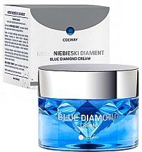 Parfémy, Parfumerie, kosmetika Krém na obličej - Colway Blue Diamond Cream