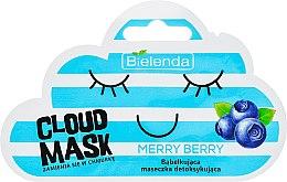 "Parfémy, Parfumerie, kosmetika Maska-obláček na obličej ""Bobule"" - Bielenda Cloud Mask Merry Berry"