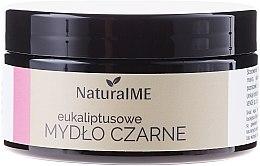 Parfémy, Parfumerie, kosmetika Přírodní černé mýdlo s eukalyptem - NaturalME