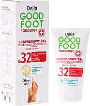 Parfémy, Parfumerie, kosmetika Gel na odstranění mozolů - Delia Cosmetics Good Foot Podology Nr 3.2