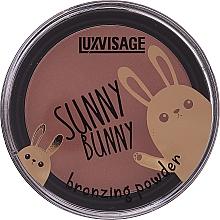 Parfémy, Parfumerie, kosmetika Bronzující pudr - Luxvisage Sunny Bunny Bronzing Powder
