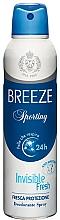Parfémy, Parfumerie, kosmetika Breeze Deo Sporting - Tělový deodorant