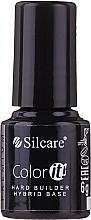 Parfémy, Parfumerie, kosmetika Kamuflážní podkladová báze pro gel laky - Silcare Color It Premium Hardi Builder Hybrid Base