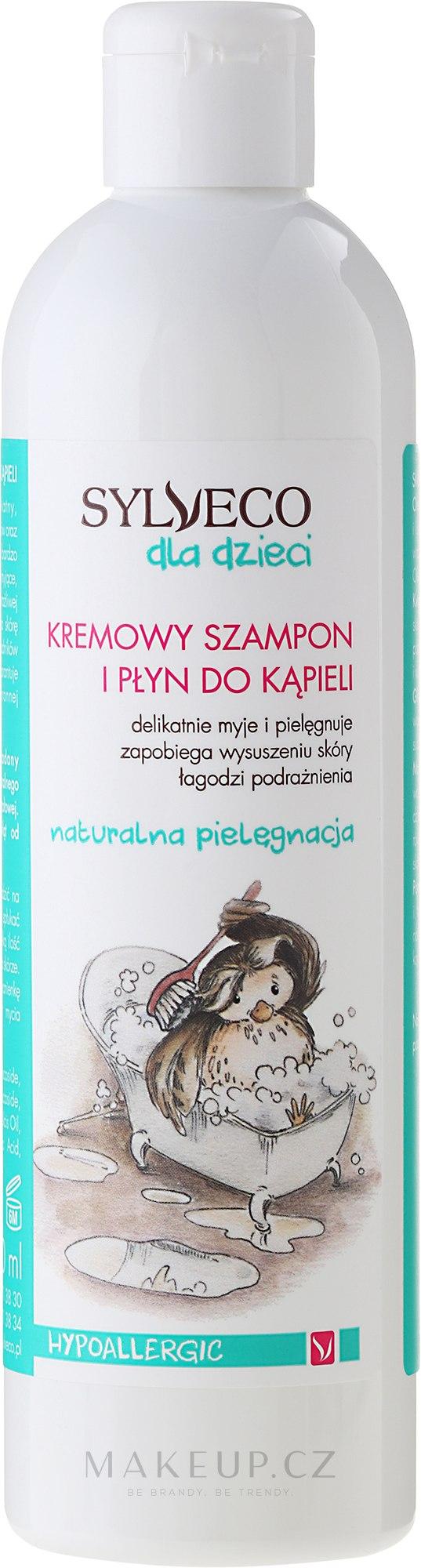Šampon-pěna pro děti - Sylveco — foto 300 ml