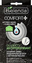 Parfémy, Parfumerie, kosmetika Aktivní antiperspirační maska na nohy - Bielenda Comfort+ Antiperspirant Foot Mask with Socks