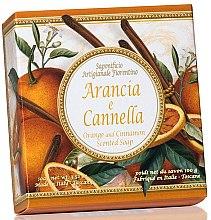 Parfémy, Parfumerie, kosmetika Prírodní mýdlo Pomeranč a skořice - Saponificio Artigianale Fiorentino Orange & Cinnamon Soap