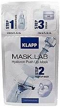 "Parfémy, Parfumerie, kosmetika Maska ""Hyaluron Push up"" - Klapp Mask Lab Hyaluron Push Up Mask"