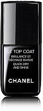 Parfémy, Parfumerie, kosmetika Vrchní lak na nehty - Chanel Le Top Coat Nail Brilliance Et Quick Dry And Shine
