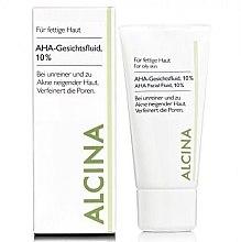 Parfémy, Parfumerie, kosmetika Fluid na obličej - Alcina Fm Aha Fluid