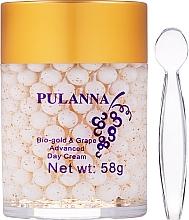 Parfémy, Parfumerie, kosmetika Denní pleťový krém - Pulanna Bio-Gold & Grape Advanced Day Cream