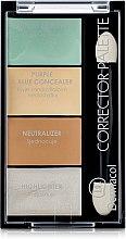 Parfémy, Parfumerie, kosmetika Paleta korektorů a rozjasňovačů - Dermacol Corrector Palette