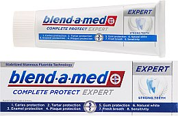 Parfémy, Parfumerie, kosmetika Zubní pasta - Blend-a-med Complete Protect Expert Strong Teeth Toothpaste
