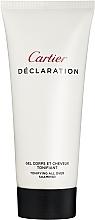 Parfémy, Parfumerie, kosmetika Cartier Declaration - Sprchový gel