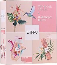 Parfémy, Parfumerie, kosmetika C-Thru Tropical Angel & Harmony Bliss - Sada (mist/200ml + sh/gel/250ml)