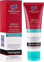 Parfémy, Parfumerie, kosmetika Obnovující krém na nohy - Neutrogena Callous Foot Cream