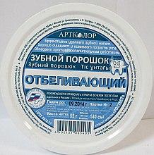 """Parfémy, Parfumerie, kosmetika Zubní prášek """"Bělení"""" - Artcolor"""