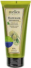 Parfémy, Parfumerie, kosmetika Regenerační maska na vlasy s extraktem z olivy - Melica Organic Regenerative Hair Mask