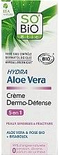Parfémy, Parfumerie, kosmetika Ochranný krém na obličej Aloe Vera - So'Bio Etic Hydra Aloe Vera Creme