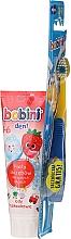 Parfémy, Parfumerie, kosmetika Sada 1-6 let - Bobini (toothbrush + toothpaste/75ml)