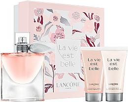 Parfémy, Parfumerie, kosmetika Lancome La Vie Est Belle - Sada (edp/50ml + b/lot/50ml + sh/gel/50ml)