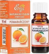 Parfémy, Parfumerie, kosmetika Přírodní éterický olej pomeranče - Etja Natural Citrus Dulcis Oil