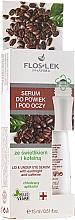 Parfémy, Parfumerie, kosmetika Sérum pro oční víčka a kolem očí se světlíkem a kofeinem - Floslek Eye Care Serum
