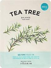 Parfémy, Parfumerie, kosmetika Látková maska na obličej s čajovým dřevem - It's Skin The Fresh Mask Sheet Tea Tree